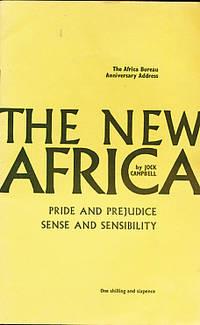 The New Africa. Pride and Prejudice. Sense and Sensibility