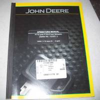 John Deere Operators Manual F710 and F725 Front Mowers (Serial No. 10,001-)