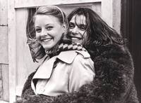 image of The Hotel New Hampshire (Original photograph of Jodie Foster and Nastassja Kinski on the set of the 1984 film)