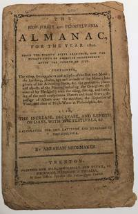 NEW-JERSEY AND PENNSYLVANIA ALMANAC, for the Year 1800