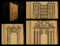 Livre d'architecture : contenant plusievrs portiques de differentes inventions sur les cinq ordres de colomnes