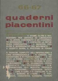 QUADERNI PIACENTINI 66-67