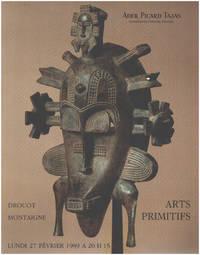 Arts primitifs / 27 fevrier 1989