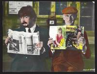 A HARD DAY'S NIGHT: ORIGINAL HAND-COLORED PHOTOGRAPHIC ARTWORK USED TO PRODUCE PROMOTIONAL LOBBY CARD #10