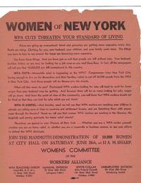 10,000 Women of New York March to Protest WPA Cuts