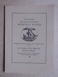 A Prospectus for Seventeen 18th and 19th Century Boxwood Blocks.