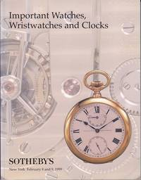image of Important Warches, Wristwatches and Clocks, Sotheby's Sale 7263, New York, February 8 and 9, 1999