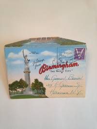 image of Birmingham Alabama The Magic City 1940's Souvenir Postcard Mailer