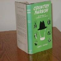 COUNTRY PARSON BY JAMES INSIGHT/FIRST AMER EDITION