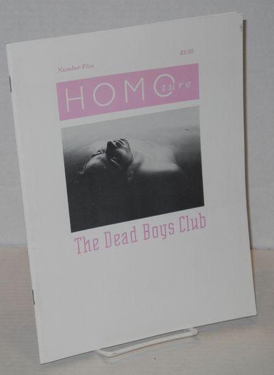 San Francisco: HomoCo, 1992. Magazine. includes covers, 8.5x11 inches, b&w nude photos, stories, com...