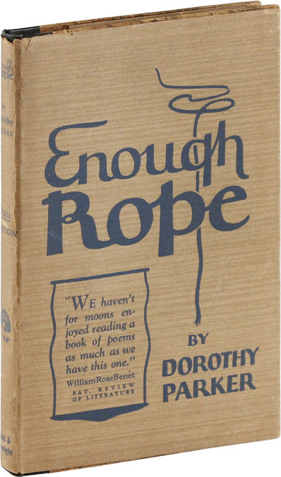 New York: Boni & Liveright, 1926. Third Printing. Octavo (19.5cm); batik paper-covered boards and bl...