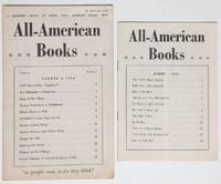 All-American Books [two issues: Summer 1958, Summer 1961]