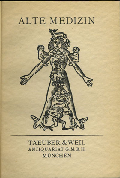 München: Taeuber & Weil, 1928. First edition. Cloth. Hinges started else a very good copy, chipped ...