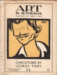 image of Art in Australia. Third Series. Number Thirty-Eight. Caricatures by George Finey