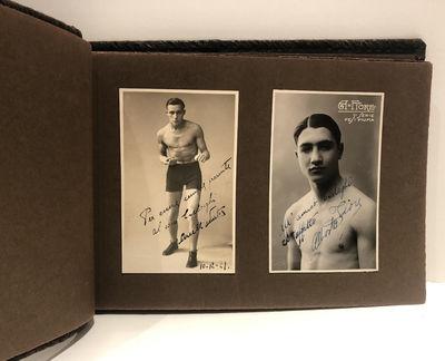 Italian Boxers Boxing 1920s Album of...