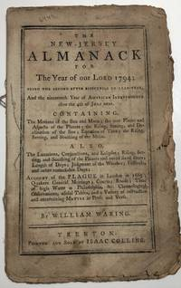 NEW-JERSEY ALMANACK for ... 1794