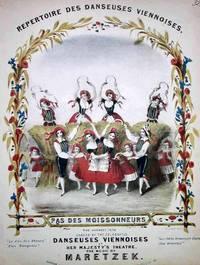 Pas de moissonneurs.  The harvest fete danced by the celebrated Danseuses Viennoises at Her Majesty's Theatre