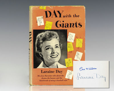 Garden City: Doubleday & Company, Inc., 1952. First edition of Day's account of her experiences as