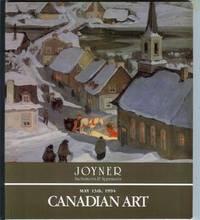 Canadian Art: Auction Catalogue at Joyner - May 13, 1994