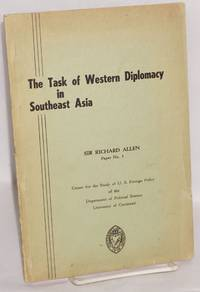 The task of Western diplomacy in Southeast Asia