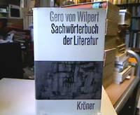 Sachwörterbuch der Literatur. Kröners Taschenausgabe Bd. 231.