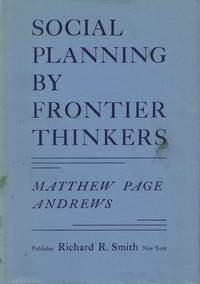 Social Planning by Frontier Thinkers