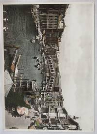 image of Hand-tinted photo of Rialto Bridge, Venice