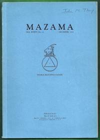 Mazama Volume XXXVI, No. 13, December, 1954