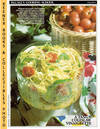 image of McCall's Cooking School Recipe Card: Salads 6 - Coleslaw With Tomatoes  (Replacement McCall's Recipage or Recipe Card For 3-Ring Binders)