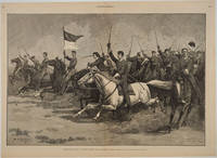Graduation Day at West Point - The Cavalry Charge by  R. F [West Point; Print]  Zogbaum - 1887 - from Antipodean Books, Maps & Prints and Biblio.com