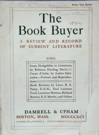 The Book Buyer: a Review and Record of Current Literature, April 1896:   Volume XIV, No. 3