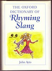 image of THE OXFORD DICTIONARY OF RHYMING SLANG