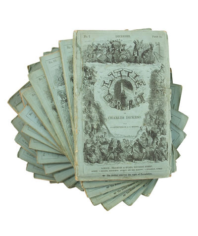 In the Original Monthly Parts DICKENS, Charles. Little Dorrit. With Illustrations by H.K. Browne. Lo...