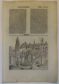 image of Liber Chronicarum  (Nuremberg Chronicle) the PARIS leaf