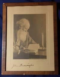 JOHN BURROUGHS' SIGNED PHOTOGRAPH