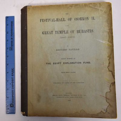 London: Kegan Paul, Trench, Trubner & Co, 1892. Hardcover. VG+ text block, clean with many pages unc...