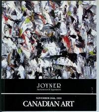 Canadian Art: Auction Catalogue at Joyner - November 26th, 1991 by Joyner Fine Art - Paperback - First Edition - 1991 - from Shannon's Bookshelf (SKU: C701104)