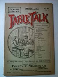 Table Talk March 1892
