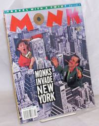 image of Monk: travel with a twist; #9, August, 1990; Monks Invade New York