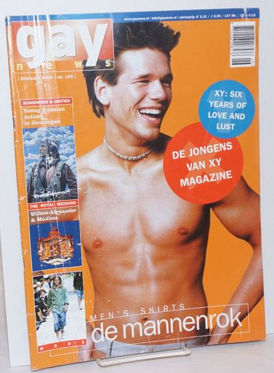 Amsterdam: Gay News Press, 2002. Magazine. 62p. includes covers, 9.5x13 inches, texts in English and...