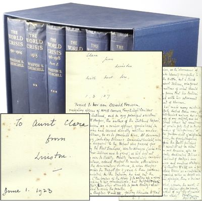 London: Thornton Butterworth Limited, 1923. First edition. Hardcover. This is an extraordinary inscr...