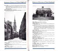 HISTORIC PLACES OF NEW ENGLAND (CA: 1920'S)  New York, New Haven and  Hartford Railroad Co. by  Herbert Sherwood - Paperback - N.D. - from Nick Bikoff, Bookseller (SKU: 10076)