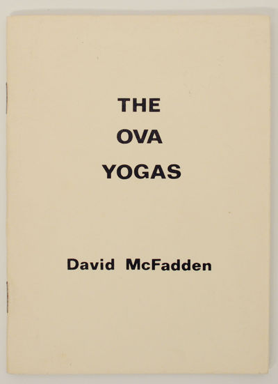 Toronto, Ontario, Canada: Weed Flower Press & Ganglia Press, 1972. First edition. Small softcover. 2...
