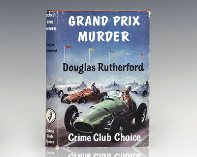 London: Collins Crime Club, 1955. First edition of Rutherford's early murder mystery. Octavo, origin...