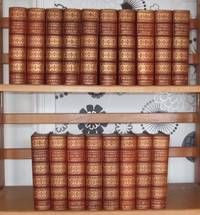 Charles Dickens Library [ Complete Set. Leather Bound. 18 Volumes ]