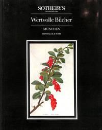Sale 10 June 1986: Wertvolle Bücher aus der Fürstl.  Löwenstein-Wertheim-Rosenberg'schen Hofbibliothek sowie aus dem Besitz  Privater Sammler.
