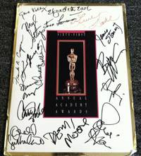 61st ANNUAL ACADEMY AWARD PROGRAM SIGNED BY STARS