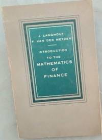 image of Introduction  To  The  Mathematics  Of  Finance