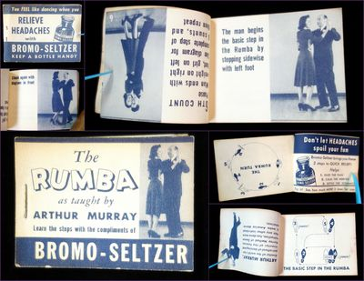 Bromo-Seltzer, 1940s. A flip book produced by the Bromo-Seltzer Company in conjunction with Arthur M...