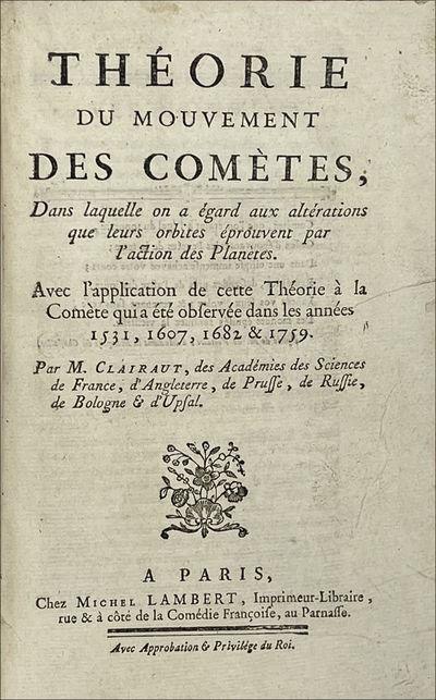 Théorie du mouvement des comètes. A...